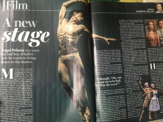 Radio Times Magazine 10 Nov 2018: 100 Years After The Armistice - Sergei Polunin