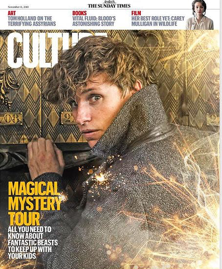 CULTURE MAGAZINE - NOVEMBER 2018 - FANTASTIC BEASTS - EDDIE REDMAYNE - SAM HEUGHAN