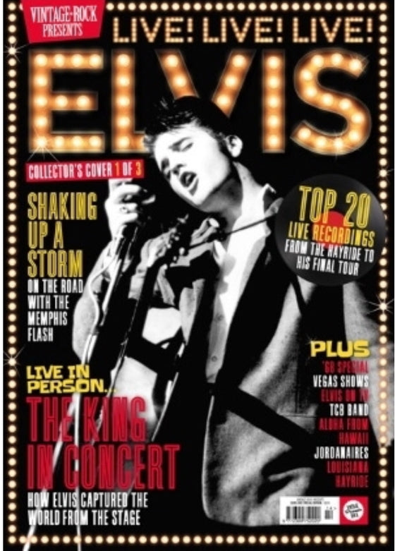VINTAGE ROCK PRESENTS MAGAZINE Sept 2019: Elvis Collector's Edition (Cover 1)