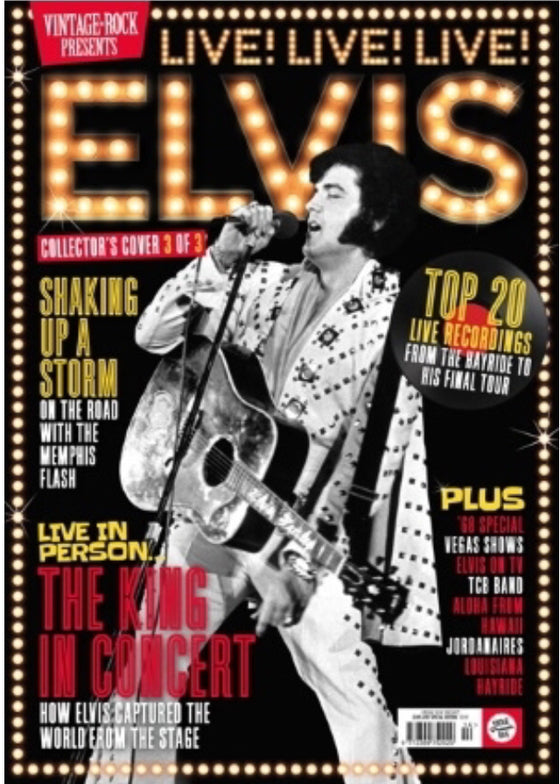 VINTAGE ROCK PRESENTS MAGAZINE Sept 2019: Elvis Collector's Edition (Cover 3)