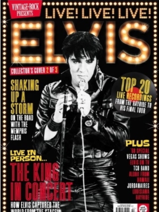 VINTAGE ROCK PRESENTS MAGAZINE Sept 2019: Elvis Collector's Edition (Cover 2)