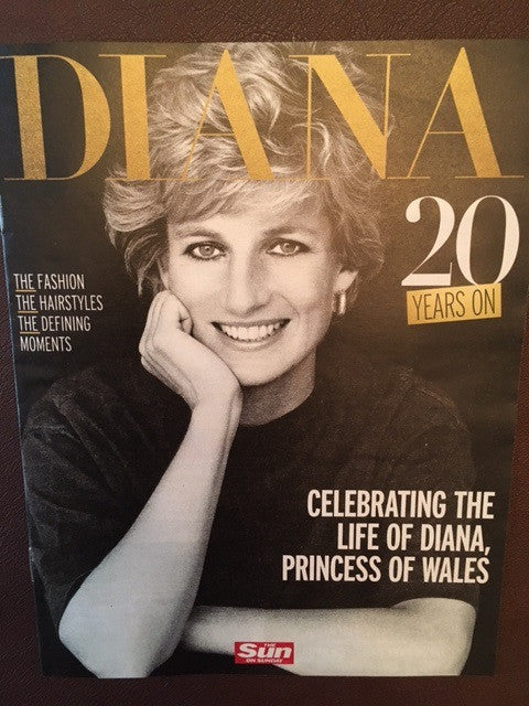 Princess Diana 20 Years On Special UK Collectors/' Edition Magazine