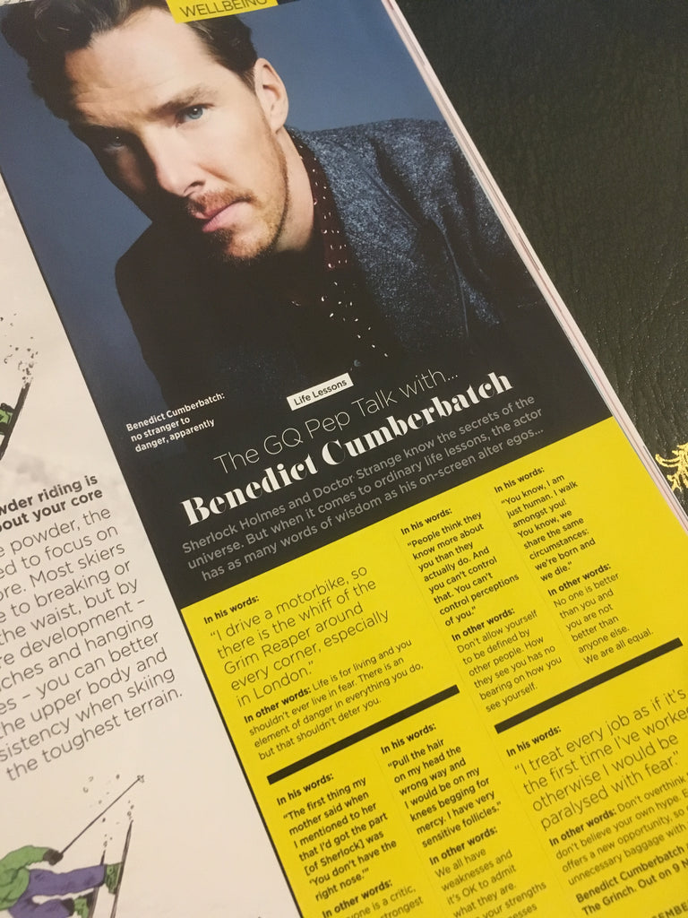 UK GQ Magazine December 2018: Benedict Cumberbatch