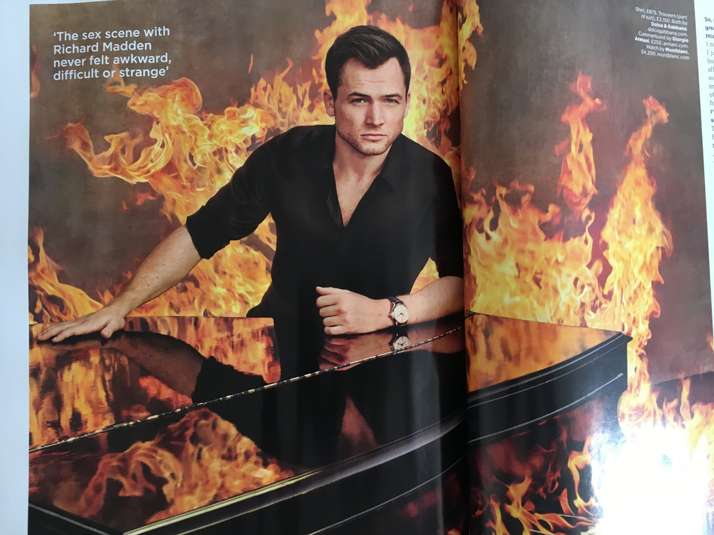 British GQ Magazine October 2019: ANDREW SCOTT Richard Madden TARON EGERTON