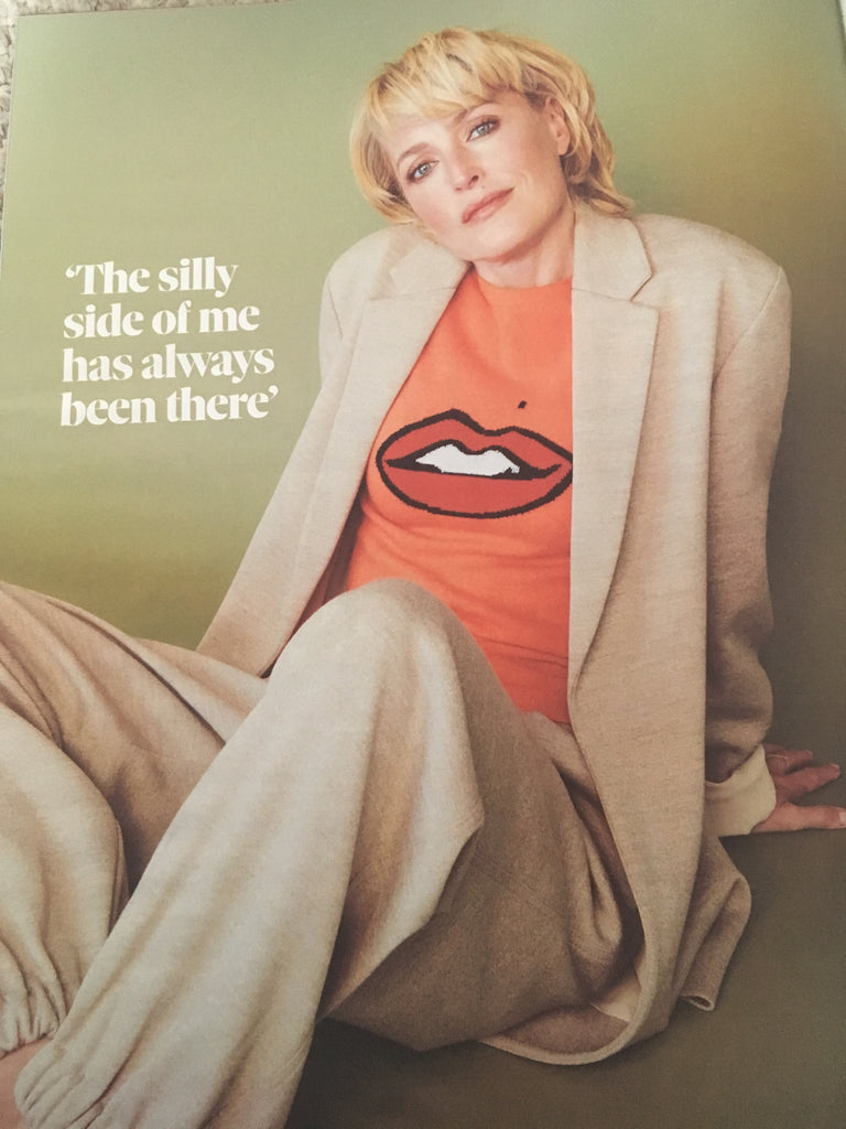 OBSERVER magazine 8 September 2019 Gillian Anderson cover and interview (SALE)
