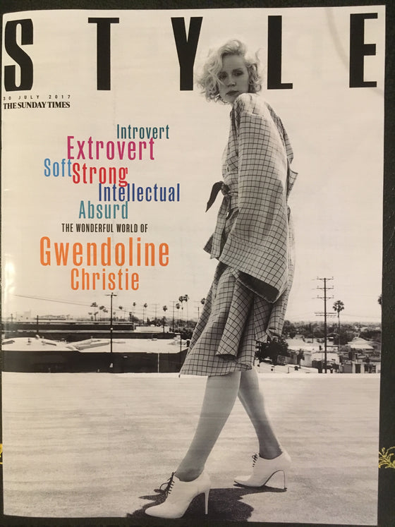 Style Magazine July 2017 Gwendoline Christie Game Of Thrones UK Cover Interview