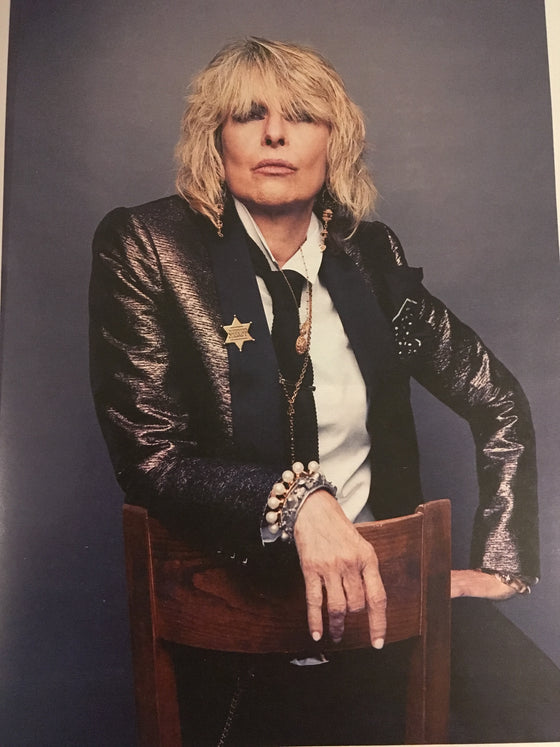 SUNDAY TIMES magazine 8 September 2019 Chrissie Hynde interview