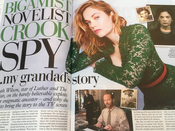 UK Weekend Magazine November 2018: RUTH WILSON Benedict Cumberbatch JO WOOD