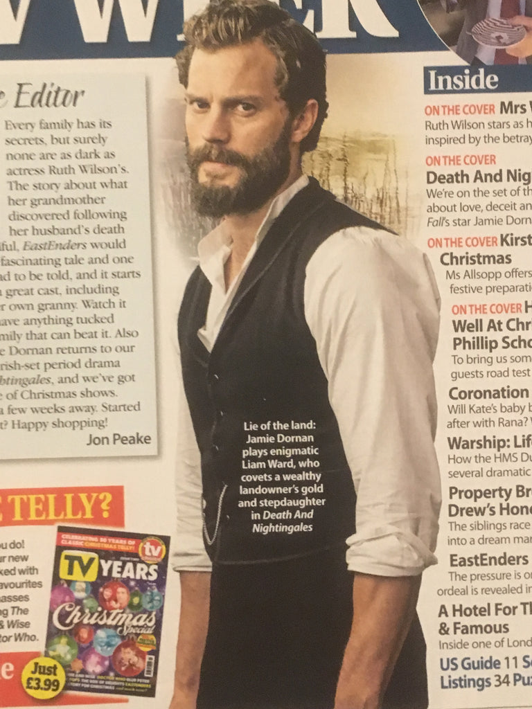 Total Tv Guide Magazine November 2018: Jamie Dornan Matthew Rhys Ann Skelly