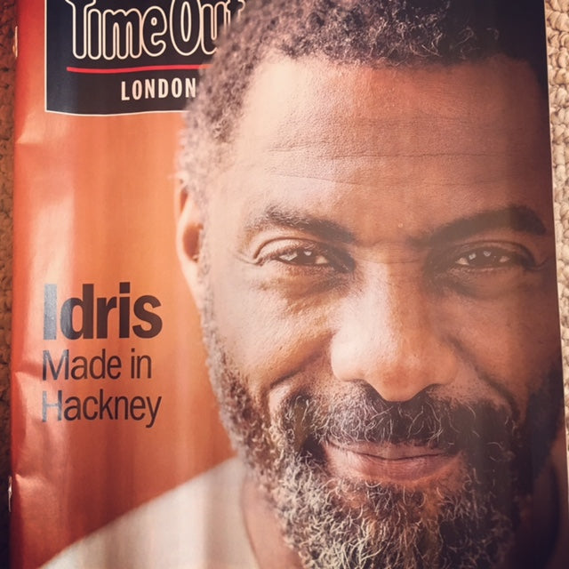 Time Out London Magazine 8th August 2017 Idris Elba Cover Story Interview