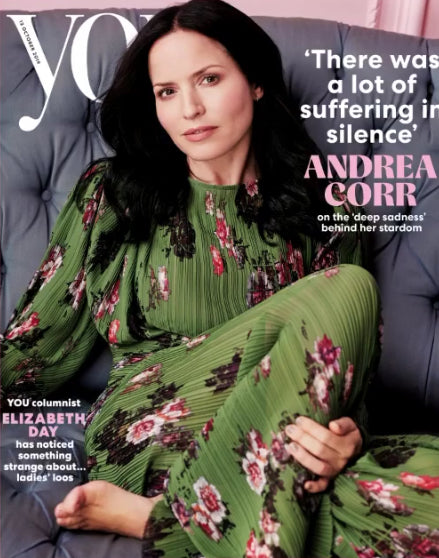 YOU magazine 13 October 2019: ANDREA CORR (The Corrs) COVER FEATURE