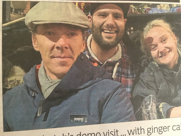 London Evening Standard Newspaper 11th October 2019: Benedict Cumberbatch