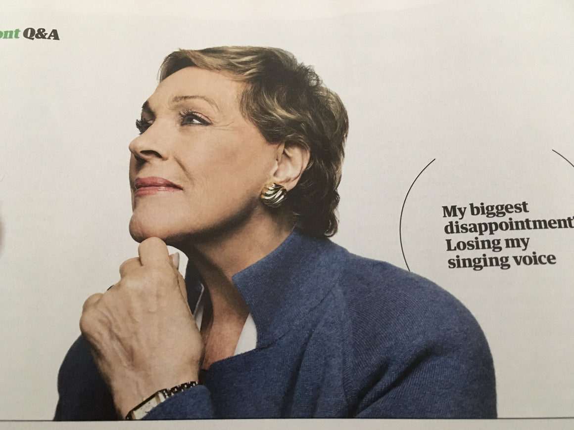 GUARDIAN WEEKEND magazine 19 October 2019 JULIE ANDREWS interview