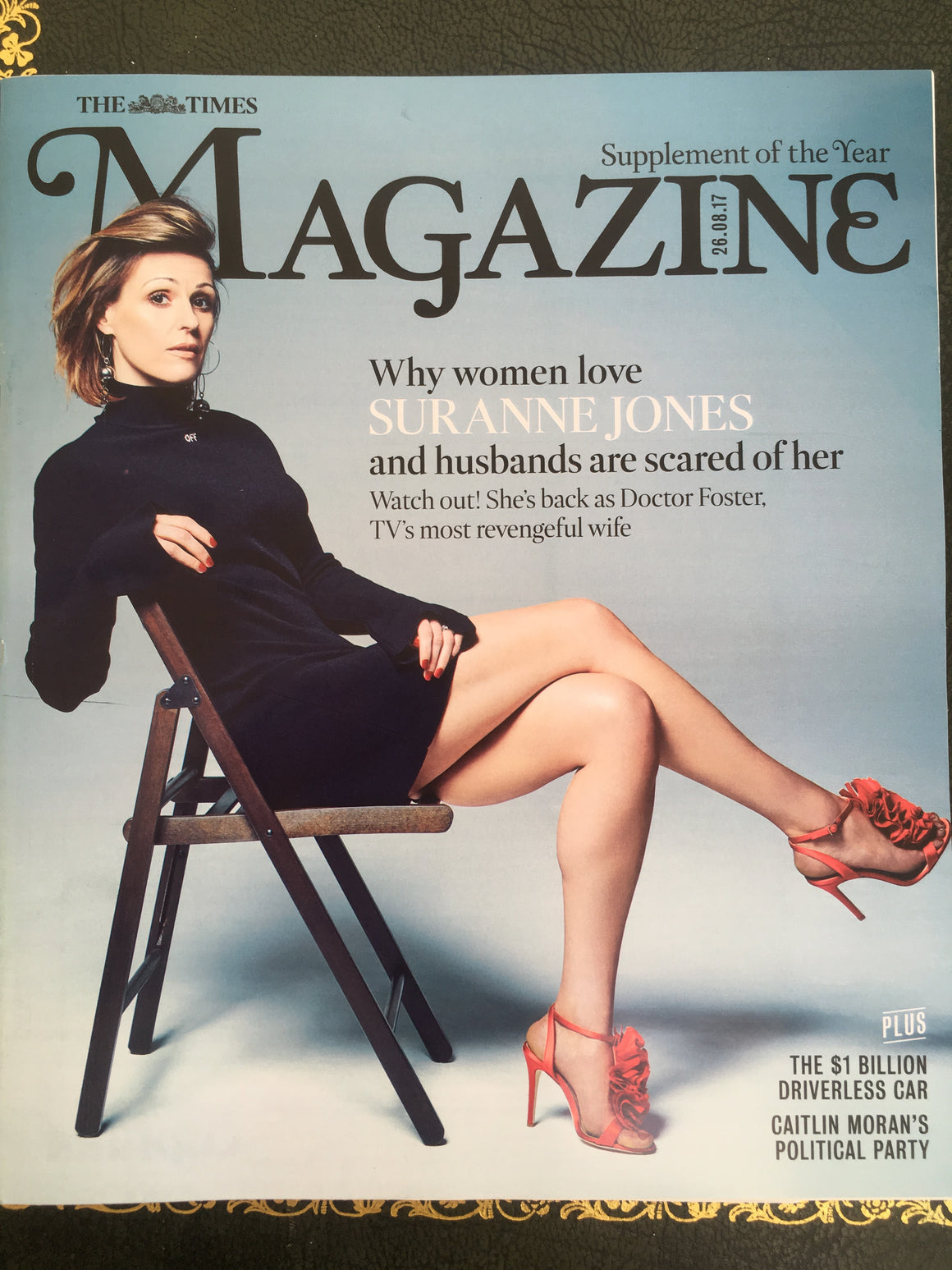 UK Times Magazine 26 August 2017 Suranne Jones Doctor Foster Robert Webb