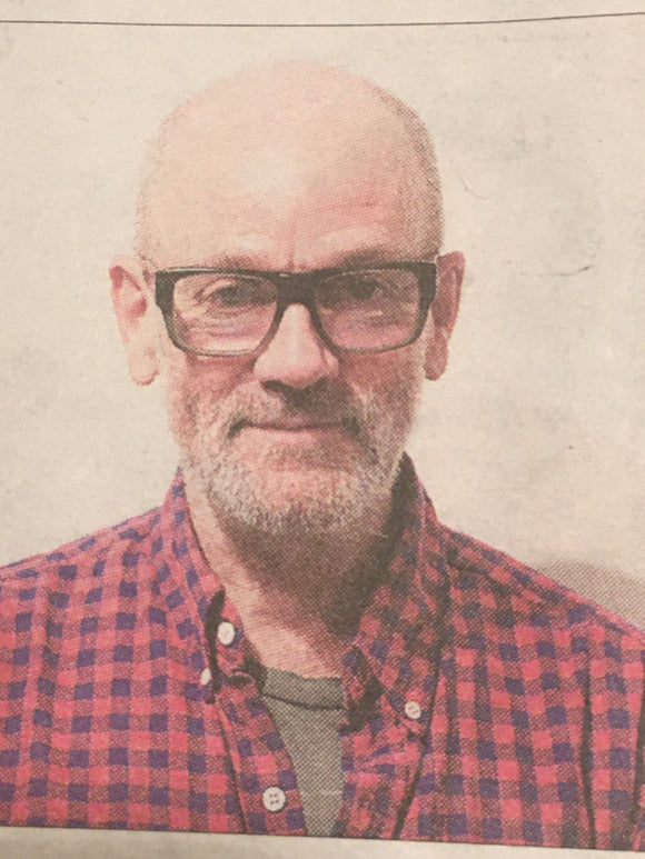 UK OBSERVER REVIEW October 2019: REM (Michael Stipe) Interview