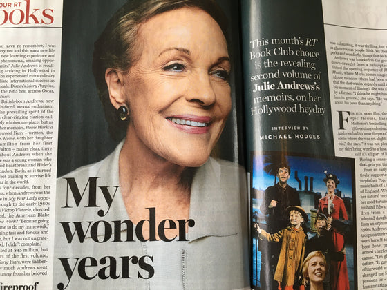 RADIO TIMES Magazine 26 Oct 2019: JULIE ANDREWS Exclusive Interview