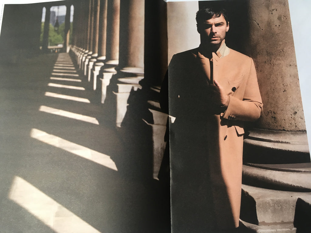 Art of Fashion Supplement Autumn/Winter 2017 Aidan Turner for Dunhill London