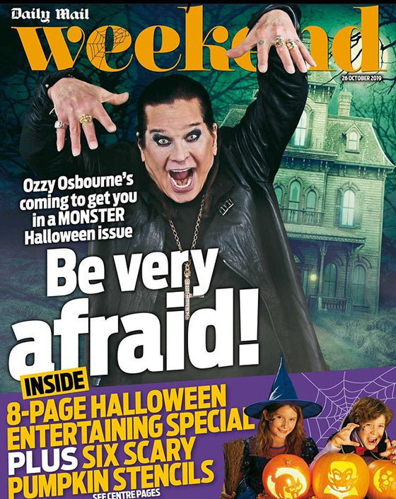 WEEKEND magazine 26 October 2019 - OZZY OSBOURNE James McAvoy JAMIE LEE CURTIS