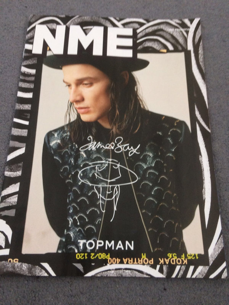 James Bay Photo Cover for Topman UK NME MAGAZINE August 18th 2017