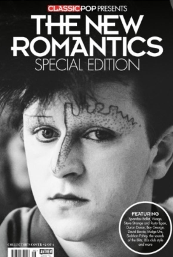 Classic Pop Presents - The New Romantics - Special Edition - Cover 2 - Steve Strange