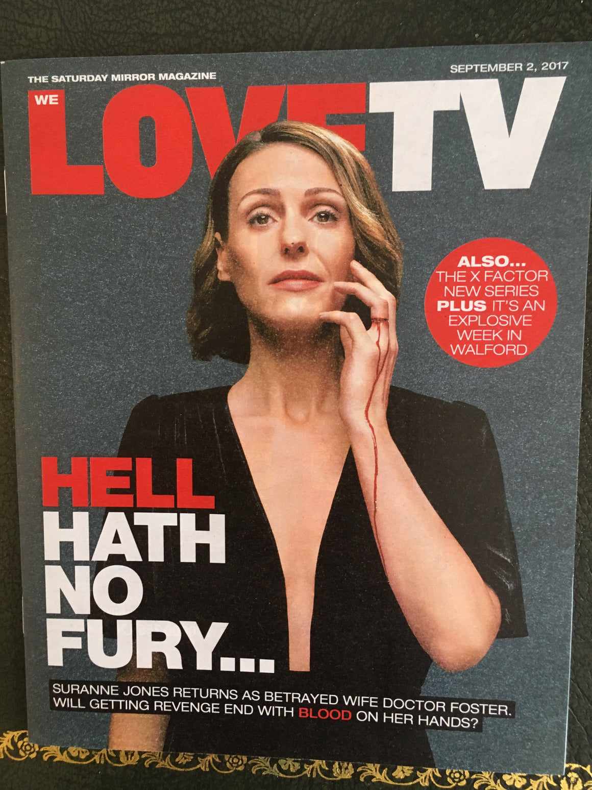 Love TV Magazine Sept 2 2017 Suranne Jones Stephen Moyer Bertie Carvel John Simm