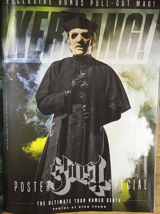 KERRANG! MAGAZINE - November 2019: Ghost Special Pull Out Magazine!