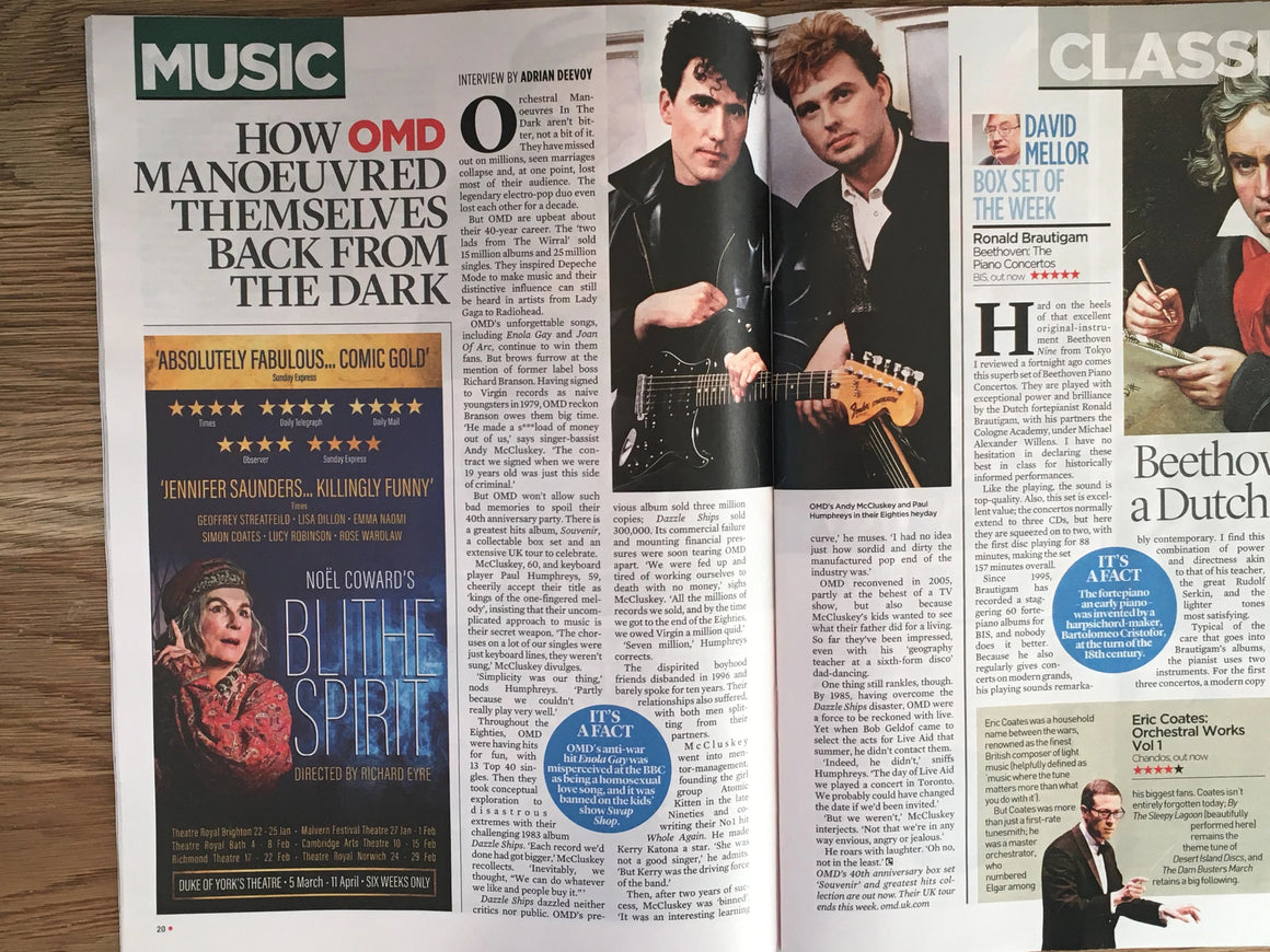 UK Event Magazine November 2019: HELEN GEORGE John Barrowman OMD Julie Andrews