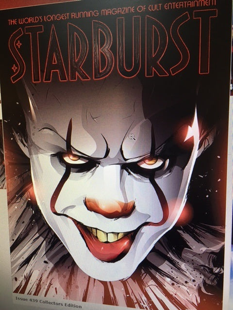 Starburst Magazine with Stephen King's It Movie