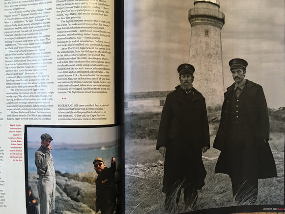 UK Empire Magazine Jan 2020: Robert Pattinson The Lighthouse Special