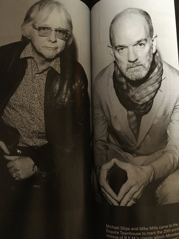 UK Esquire Magazine January 2020: Alexander Skarsgard Michael Stipe