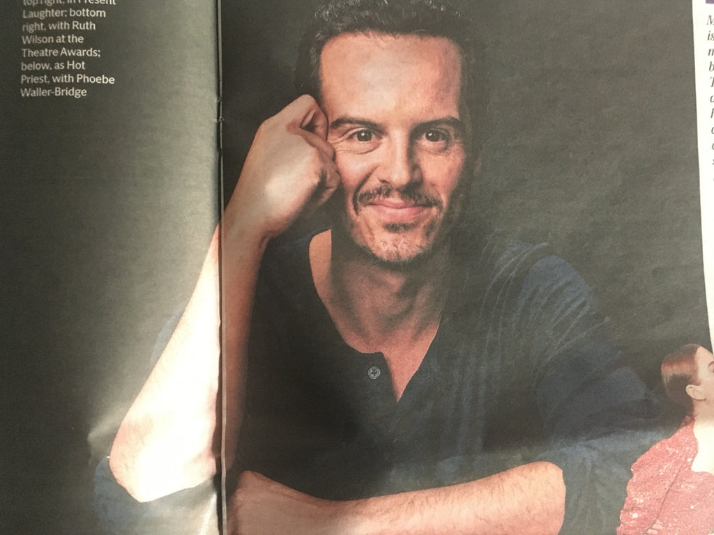 London ES 26 November 2019: Andrew Scott Interview