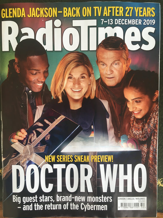 Radio Times Magazine 7 December 2019 Jodie Whittaker Doctor Who Exclusive