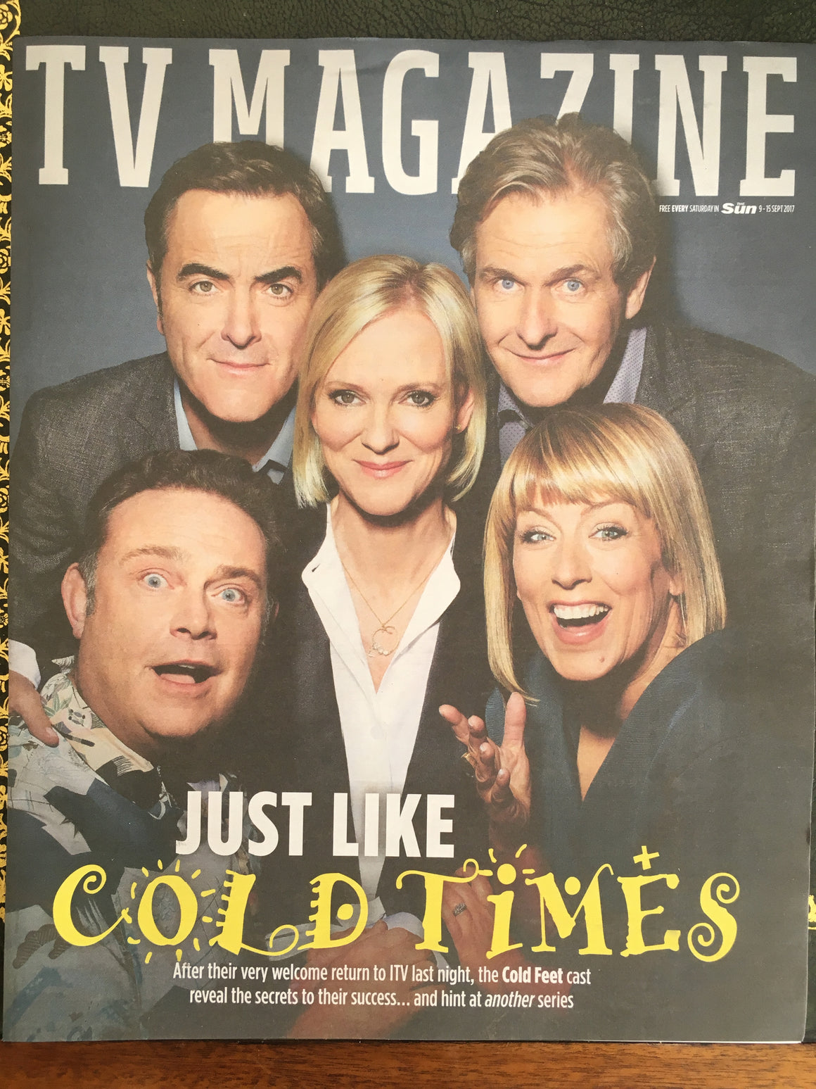 UK Sun TV Magazine September 9 2017 Hermione Norris Richard Dormer Ioan Gruffudd