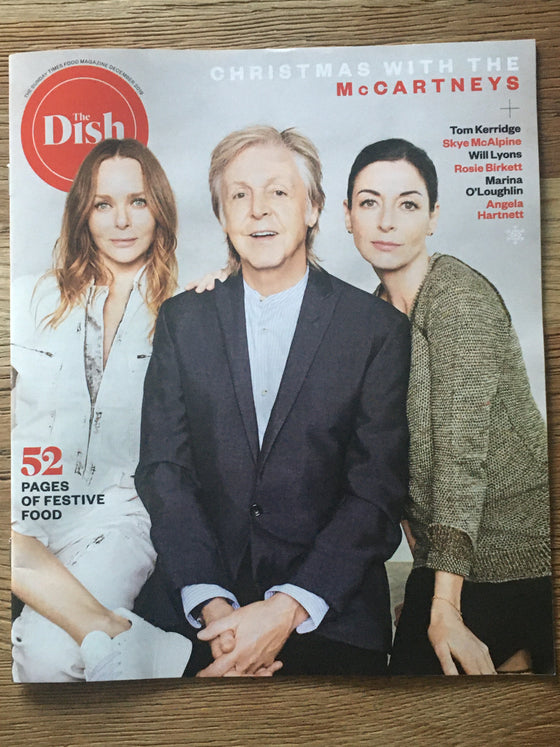 SUNDAY TIMES magazine 1 December 2019 Sir Paul McCartney - Christmas with the McCartneys