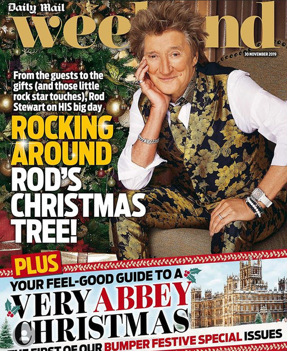 Mail Weekend Magazine 30 November 2019: Rod Stewart Cover Exclusive