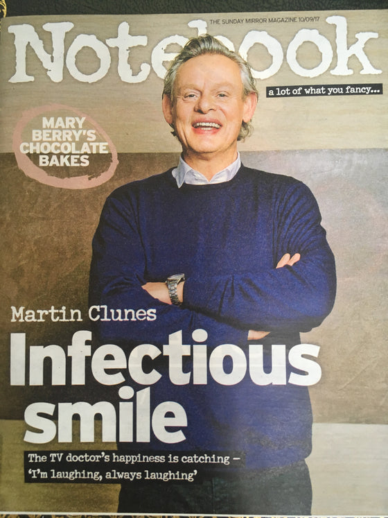 UK Notebook Magazine September 10 2017 Martin Clunes Shane Filan Chris Packham