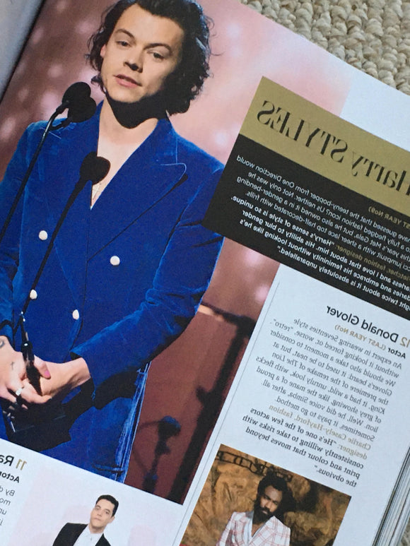 UK GQ Magazine Jan 2020: Timothee Chalamet Harry Styles Richard Madden Cody Fern Andrew Scott