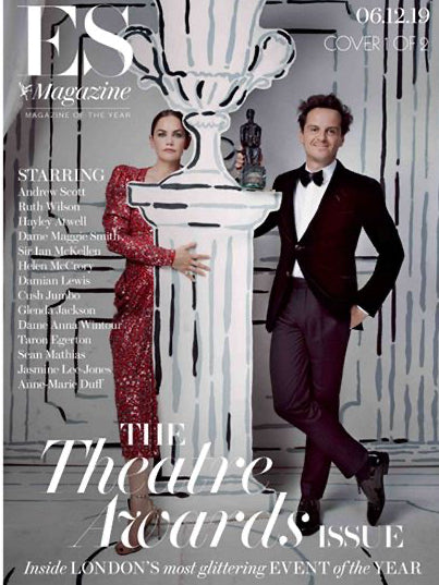 London ES Magazine December 2019: Andrew Scott Ruth Wilson Helen McCrory #1