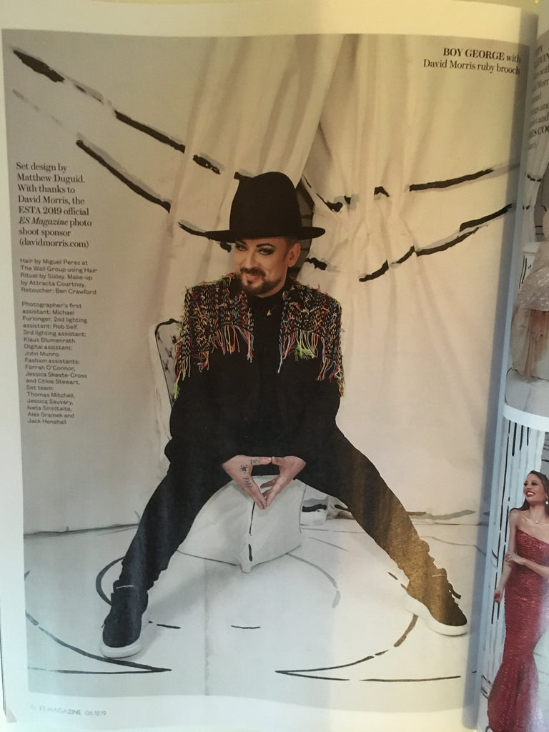 London ES Magazine December 2019: Boy George