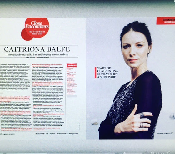 Caitriona Balfe talks Outlander for SFX Magazine