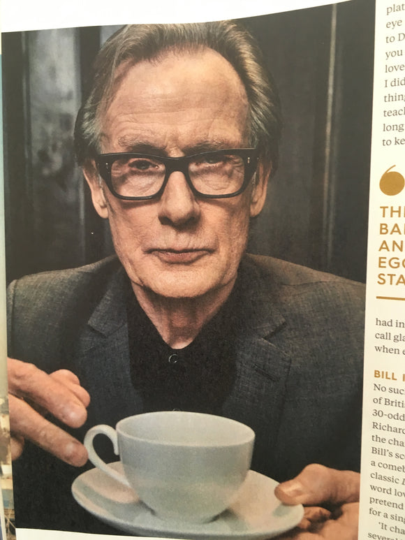UK Balance Magazine September 2017 Bill Nighy Cover Interview