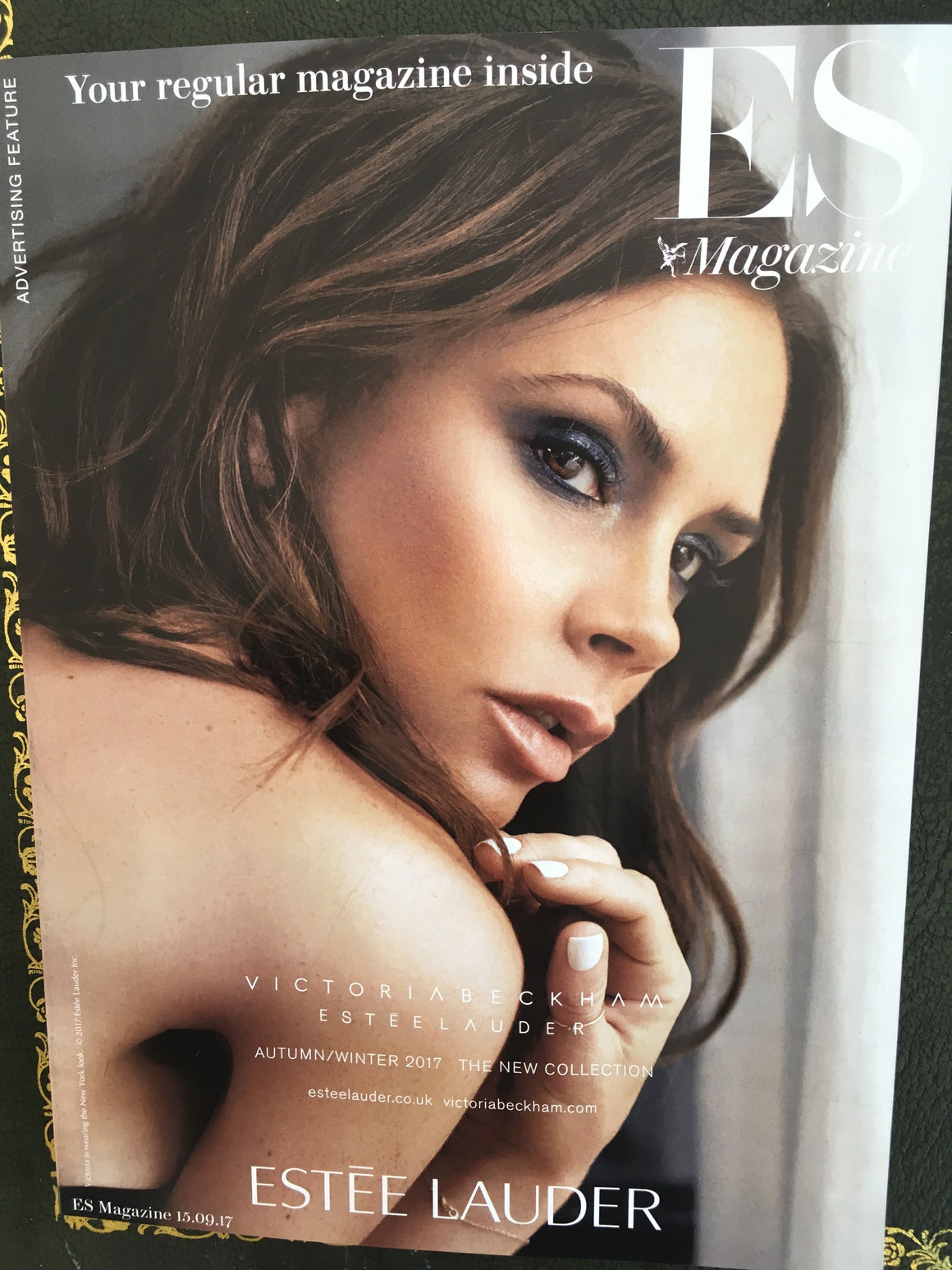 London ES magazine 15th September 2017 Victoria Beckham Slick Woods Joan Collins