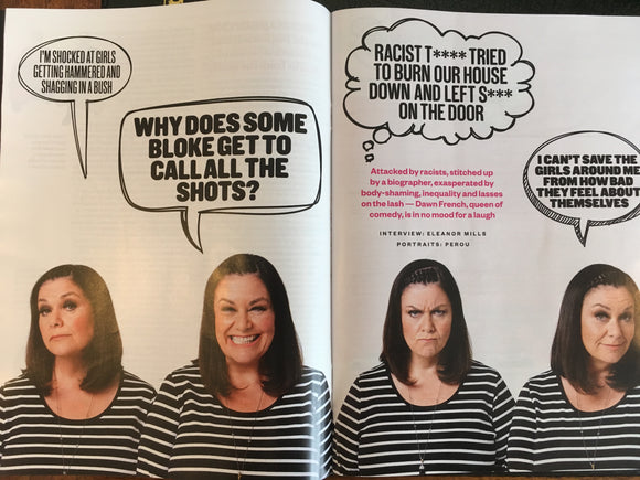 Sunday Times Magazine September 17 2017 Dawn French Nigella Lawson Russell Watson