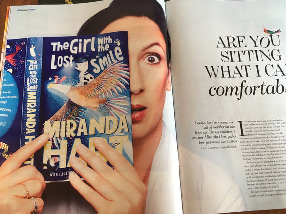 Miranda Hart on the cover of You Magazine