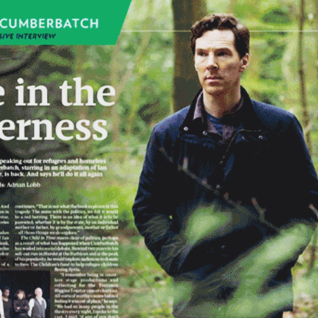 Benedict Cumberbatch talks exclusively to the Big Issue Magazine