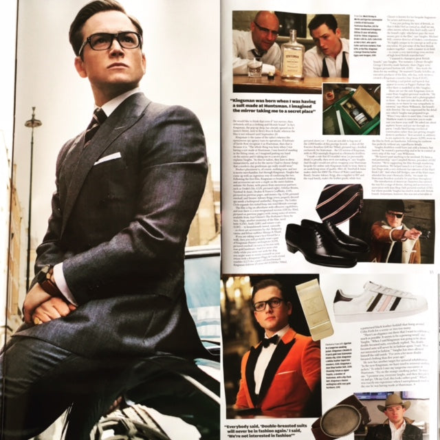 How to Spend It Magazine September 2017 Taron Egerton Kingsman 2