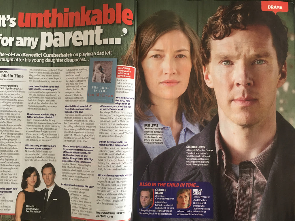 Benedict Cumberbatch interviewed in the TV Times