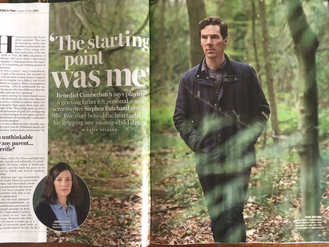 Benedict Cumberbatch interview in Radio Times Magazine