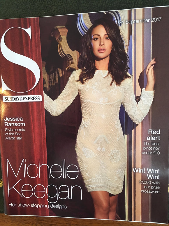 UK S Magazine 24th September 2017 Michelle Keegan Jessica Ransom Alan Rickman Sharleen Spiteri
