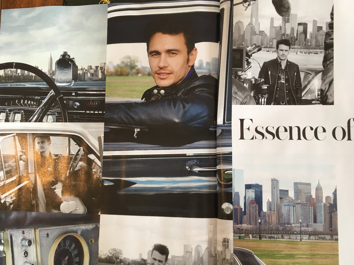 ST Sunday Telegraph Magazine Autumn/Winter 2017 James Franco Interview Kit Harington